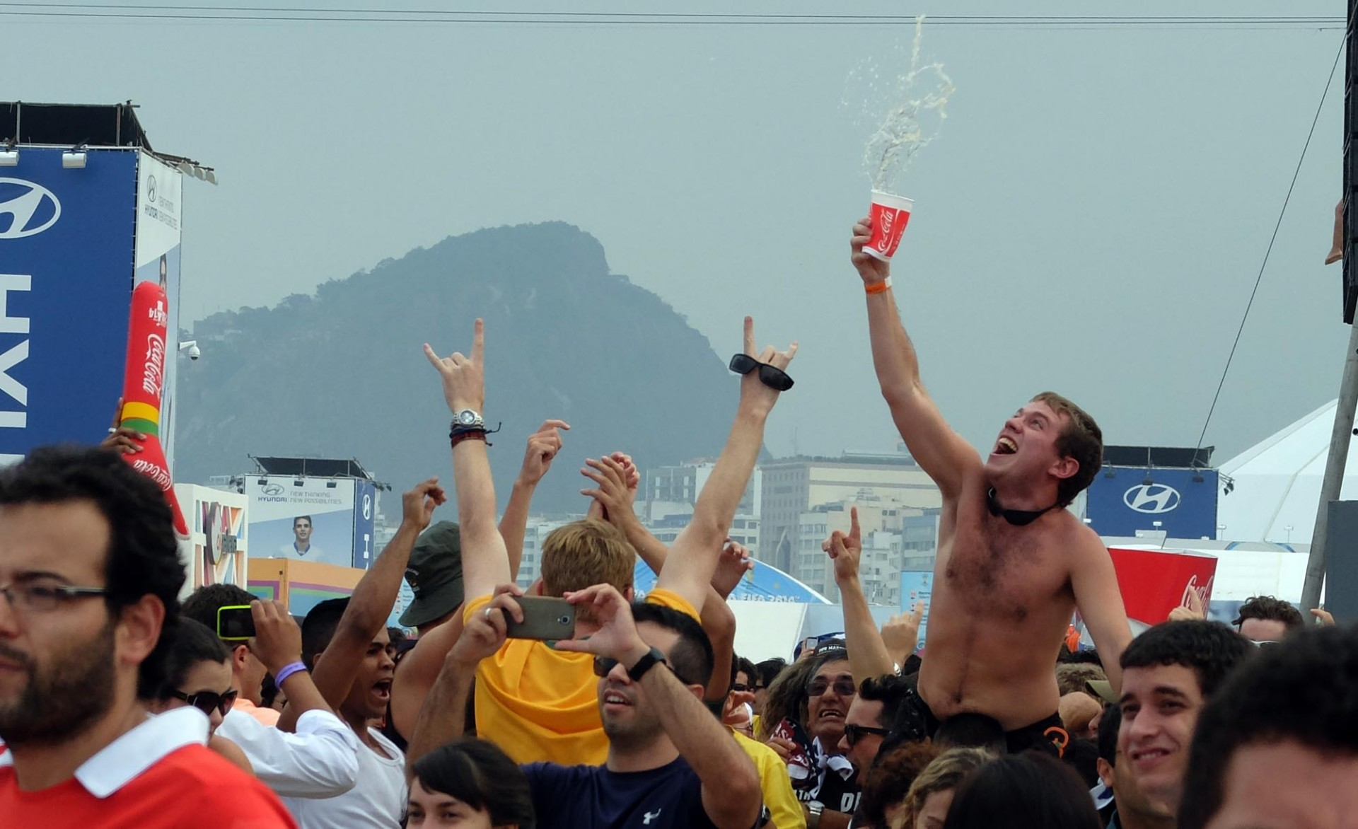 Fiesta y fútbol: ¿Qué más se le puede pedir a la vida?