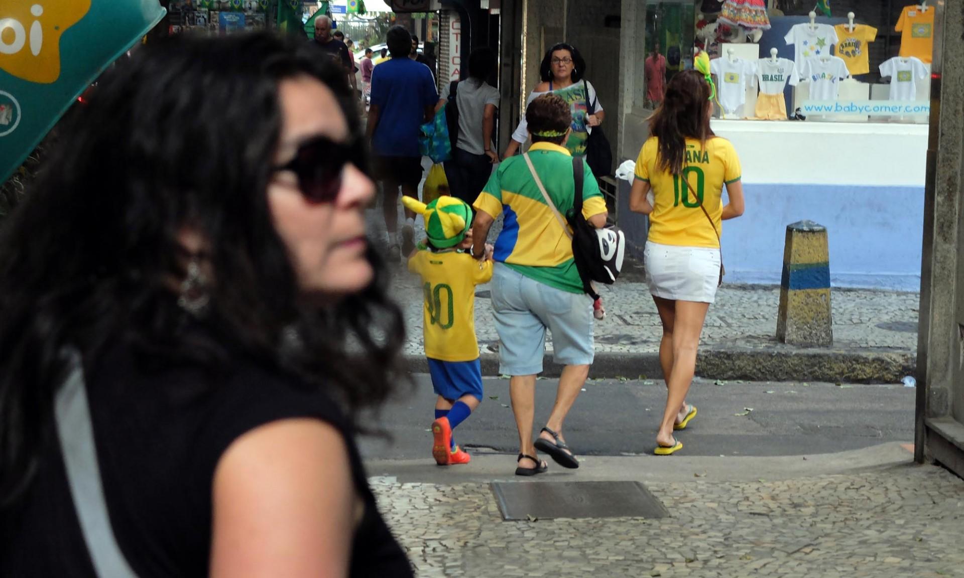 En todo hogar, en toda calle y a  toda edad el fútbol acá está presente.