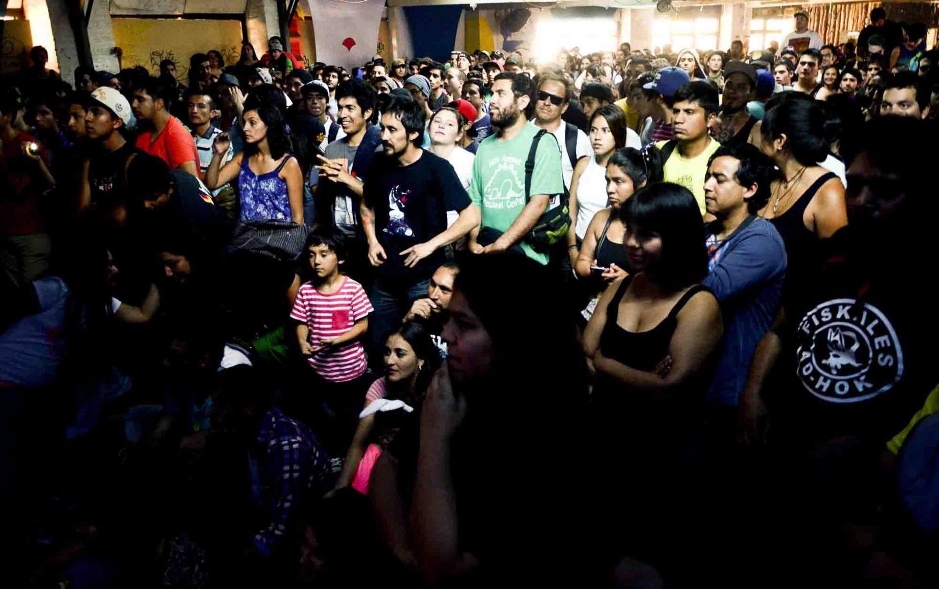 Los que se pasearon por las diversas actividades del Rockódromo 2015 se fueron satisfechos.