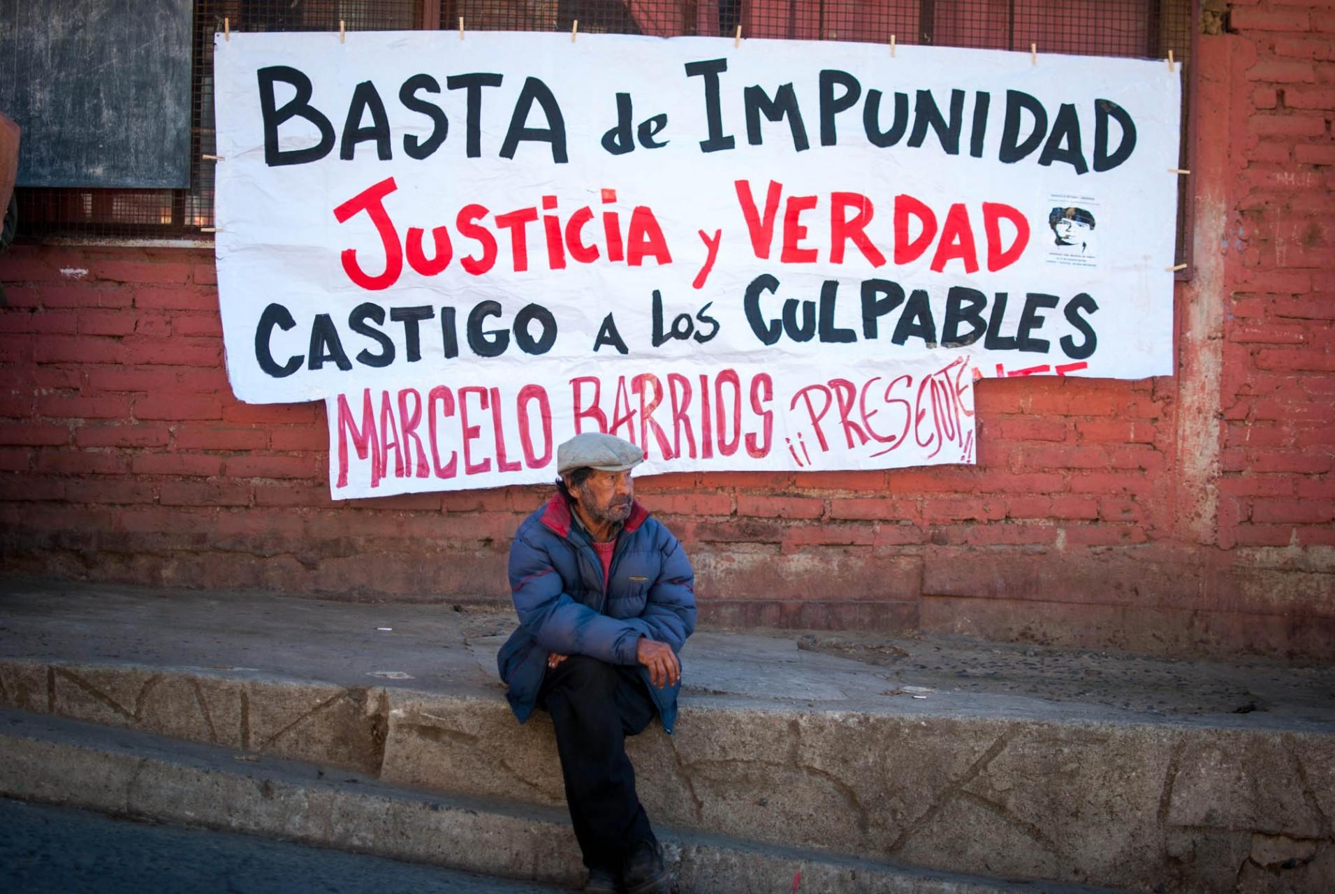 El cerro Yungay de Valparaíso fue donde se llevó adelante la diligencia que busca esclarecer la muerte de un joven estudiante de historia en los descuentos de la dictadura de Pinochet.