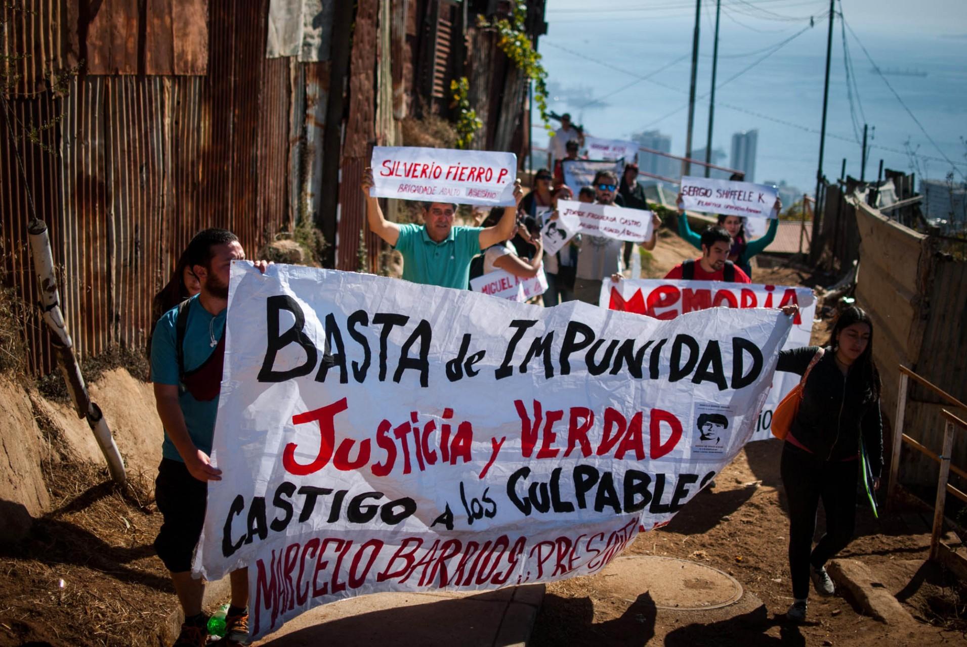 Distintas organizaciones se dieron cita para manifestar su molestia por tantos años de impunidad y su esperanza de ver justicia en los próximos meses.