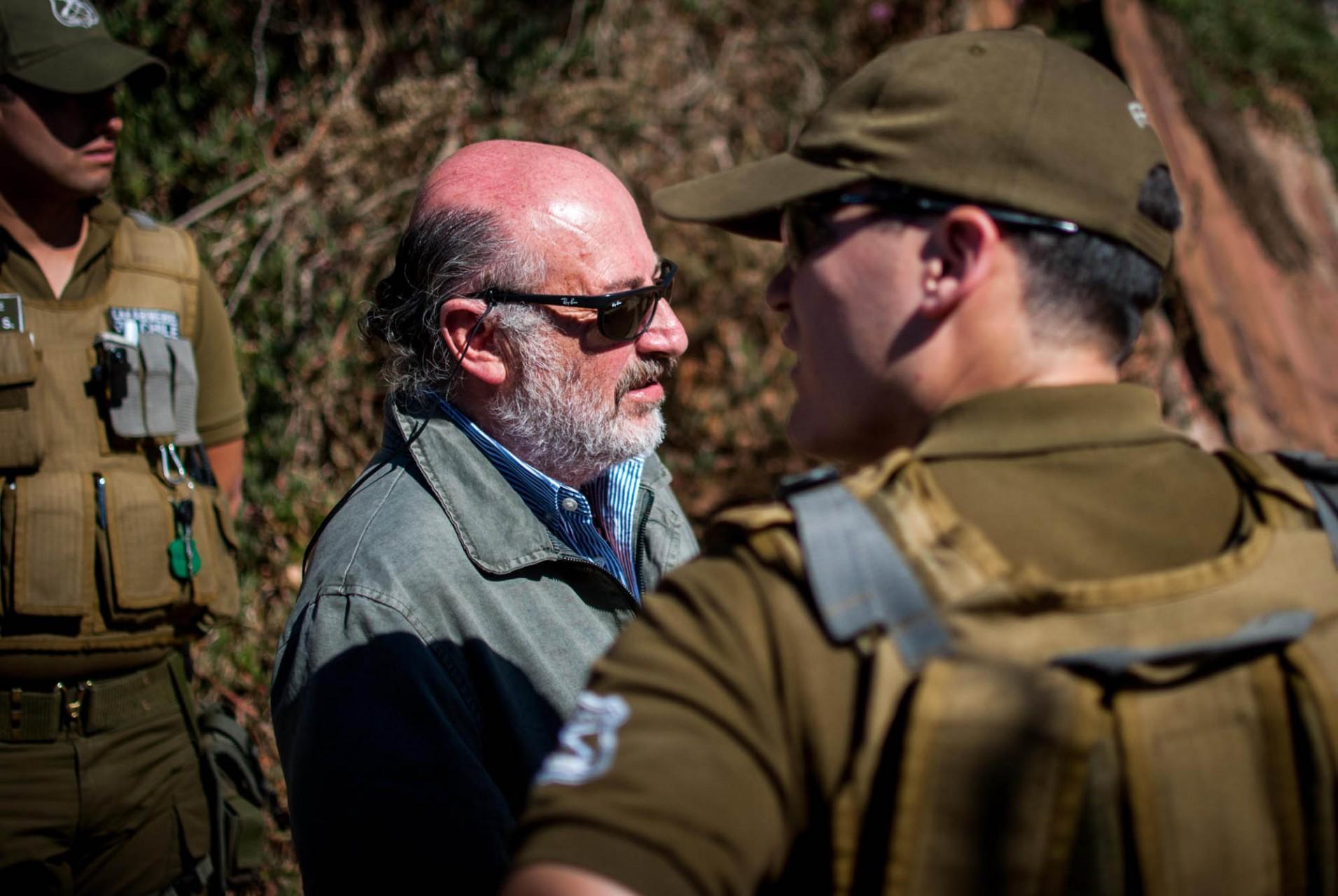 Sergio Chiffeley Kirby,ex marino que en 1989 habría liderado uno de los grupos que dio muerte al estudiante.