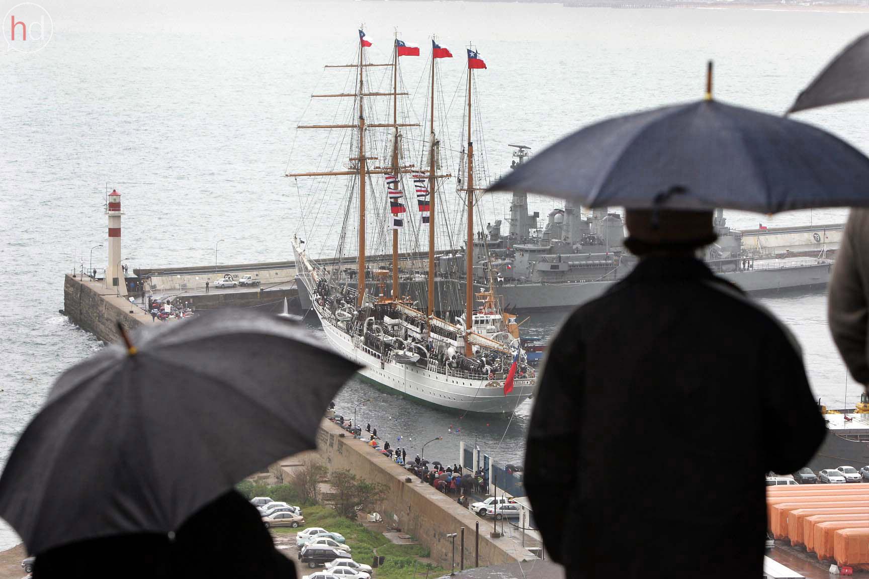 En Valparaíso comenzó el golpe. La gloriosa Esmeralda fue recinto de detención y tortura desde el primer momento.