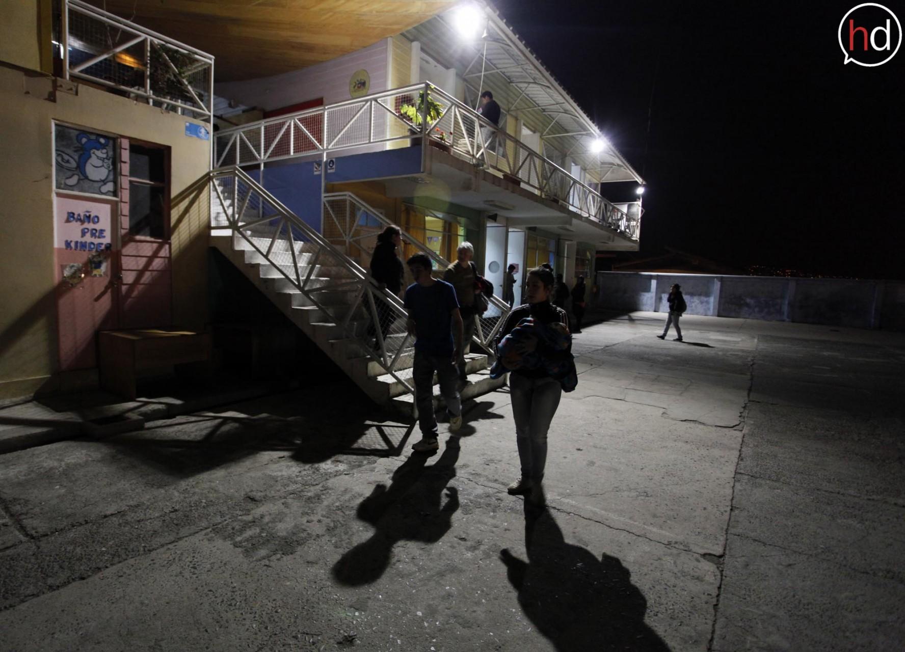 Diversos establecimientos de la ciudad fueron convertidos en albergues para los más de 2 mil damnificados.