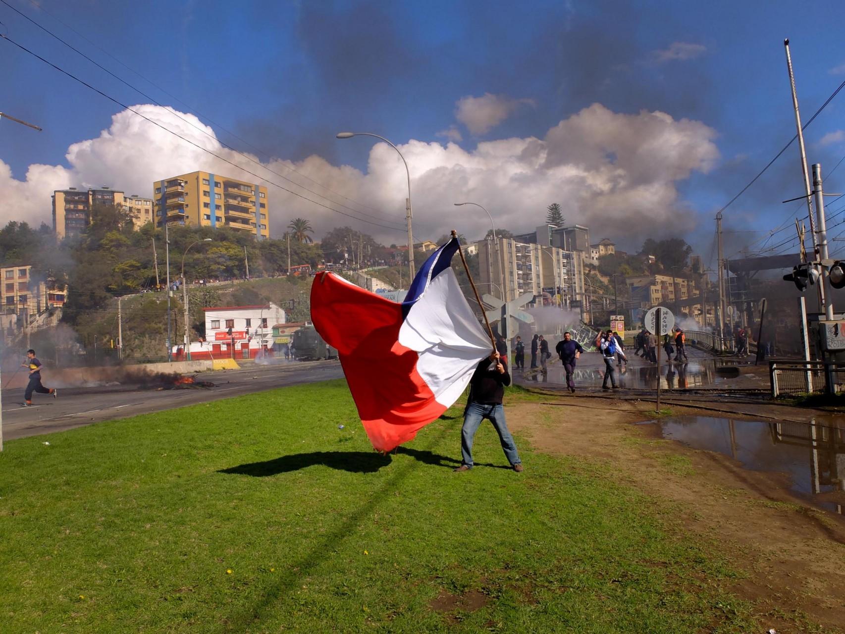 Los pescadores artesanales de todo Chile retoman las protestas.