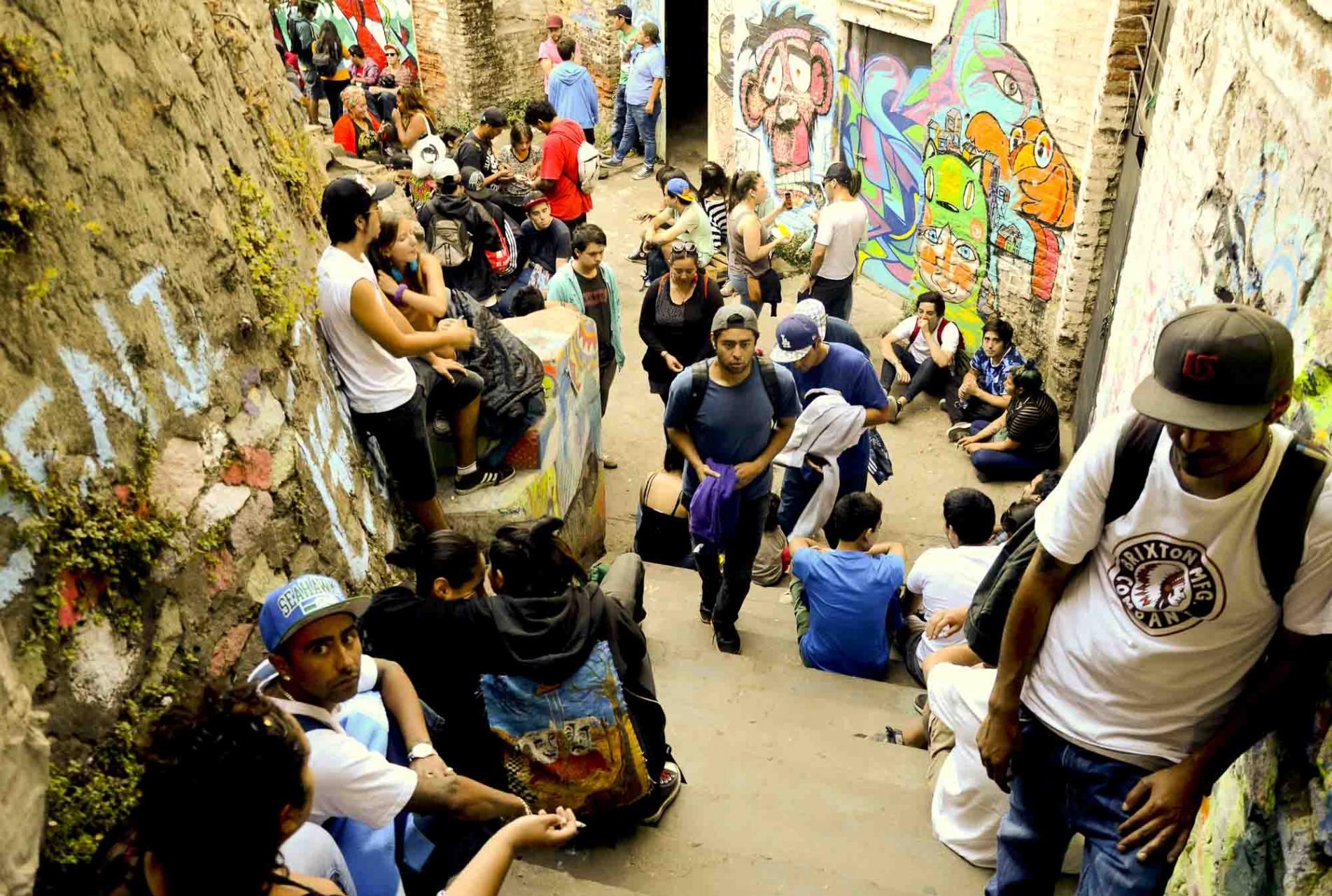 El pueblo musical llegó en masa a lugares que se suman como el Centro Cultural Trafón.