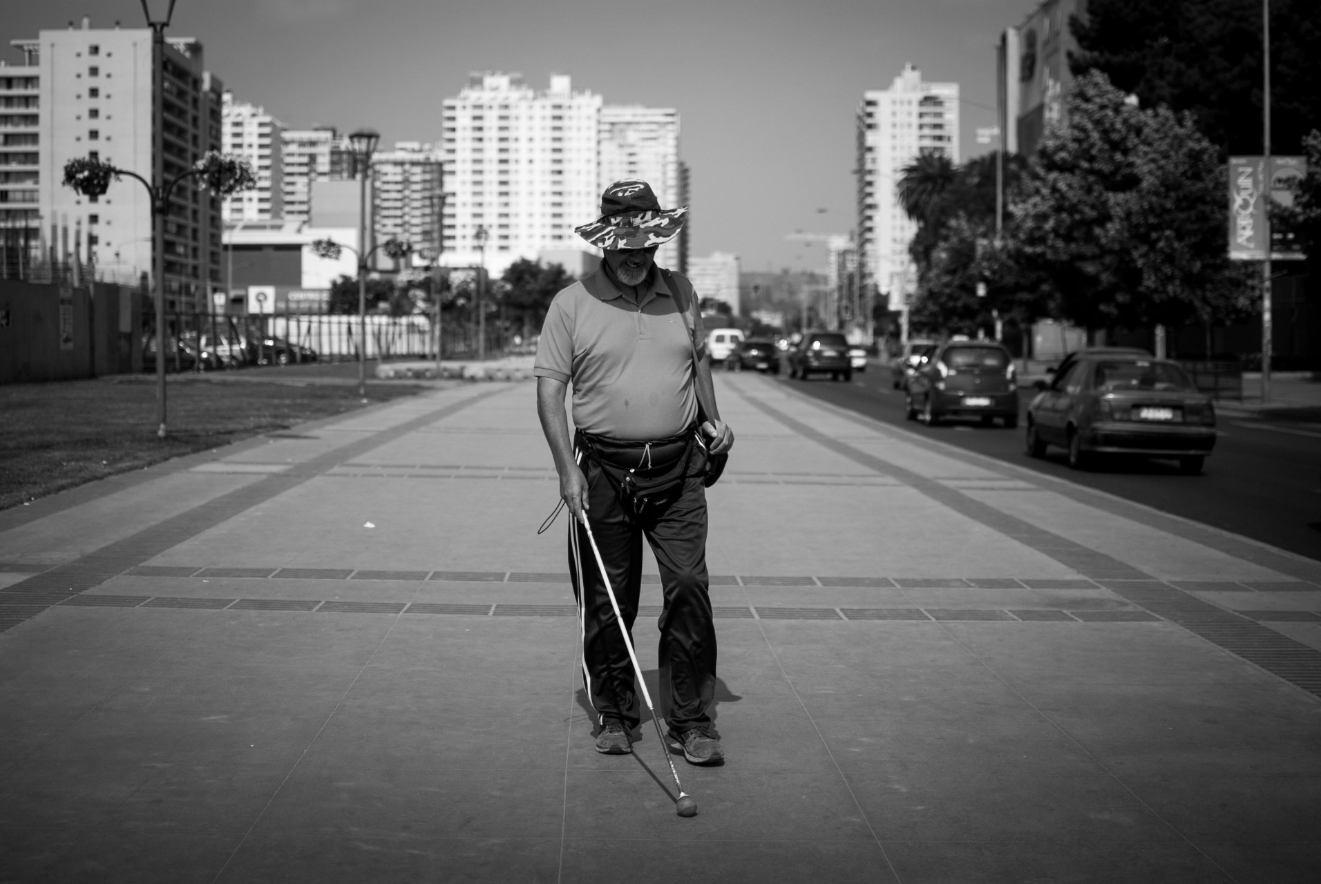 Las cifras oficiales indican que en Chile existen 300 mil personas con discapacidad visual. Una realidad que no siempre es considerada.